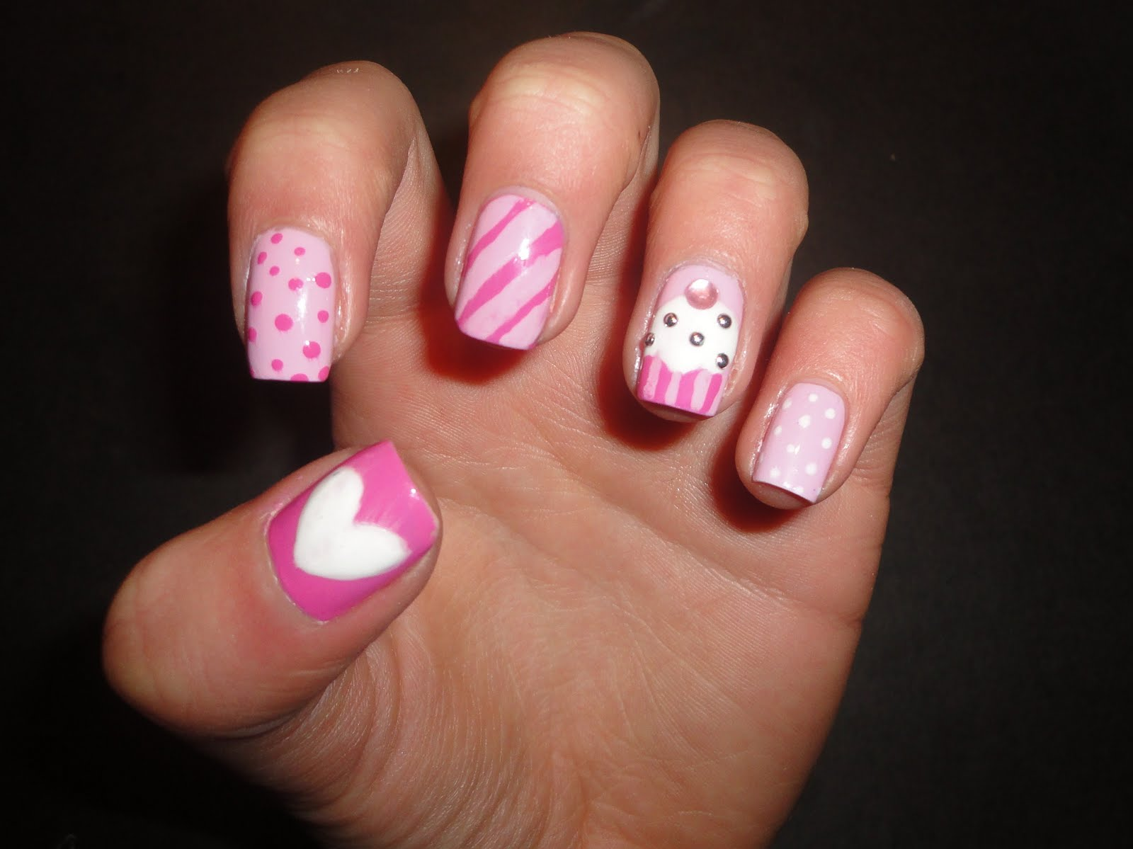 Nail Art Ideas: 20 Happy Birthday Nail Art Ideas & Designs For Girls 2013